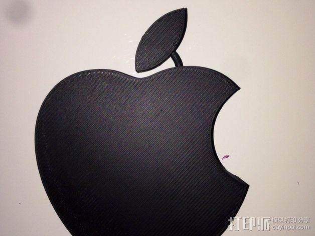 苹果LOGO 3D模型  图5