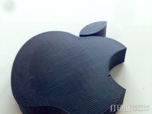 苹果LOGO 3D模型  图6