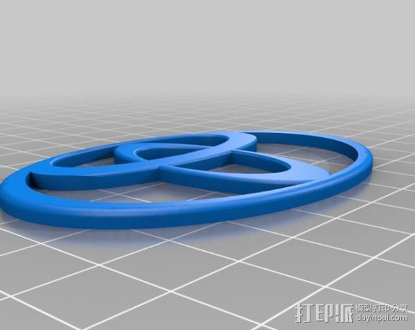Toyota 标识 3D模型  图2