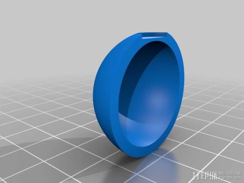 神奇宝贝球 3D模型  图4