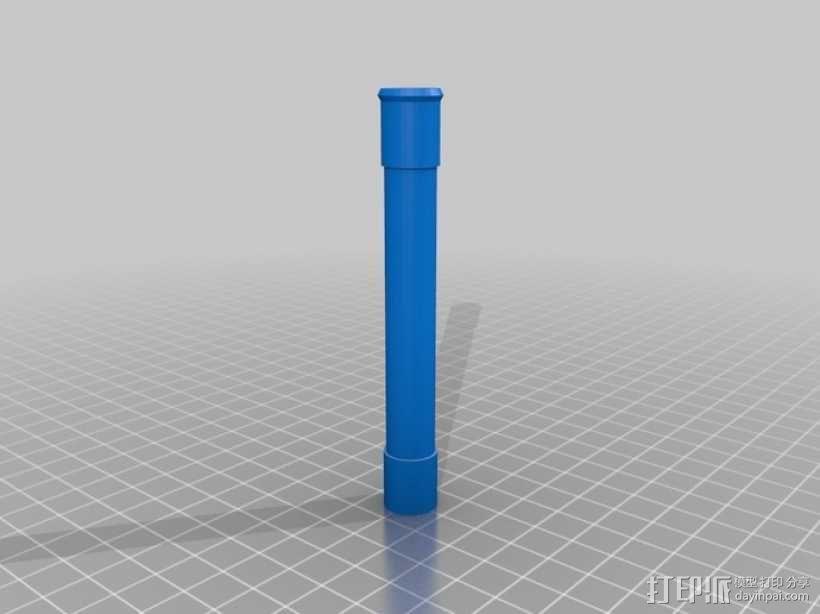 哈利波特式魔杖 3D模型  图6