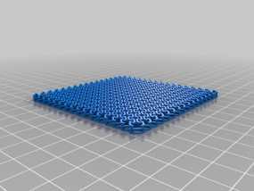 锁甲杯垫 杯托 3D模型