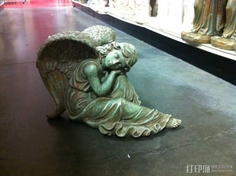 熟睡的天使 模型 3D模型  图4