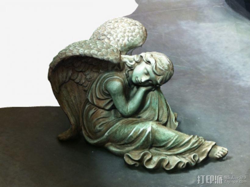 熟睡的天使 模型 3D模型  图5