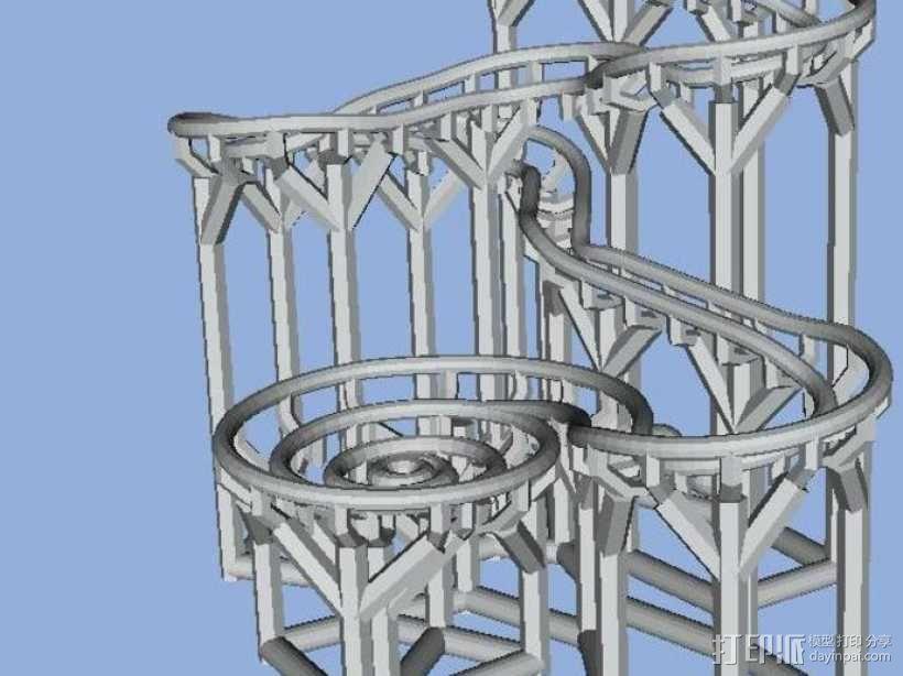 滚球轨道 3D模型  图2