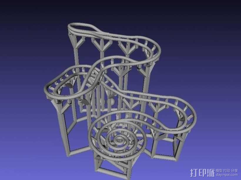 滚球轨道 3D模型  图4