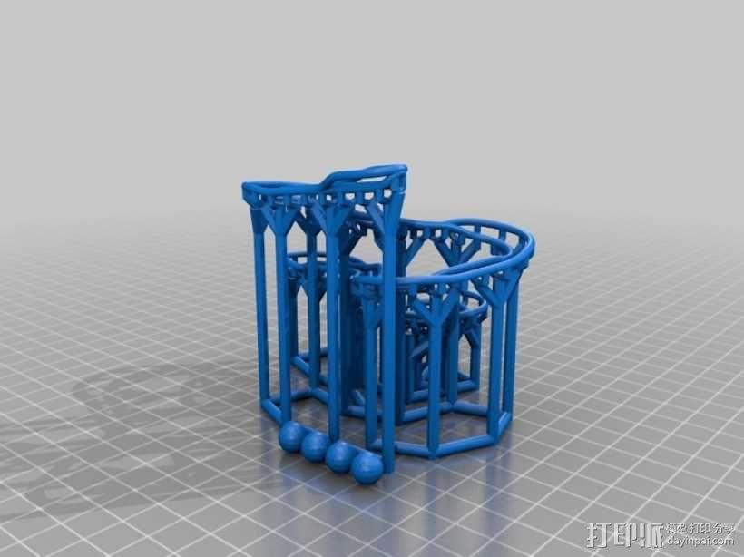 滚球轨道 3D模型  图7