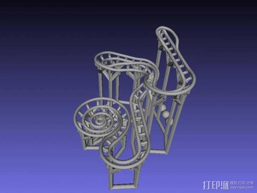 滚球轨道 3D模型  图6