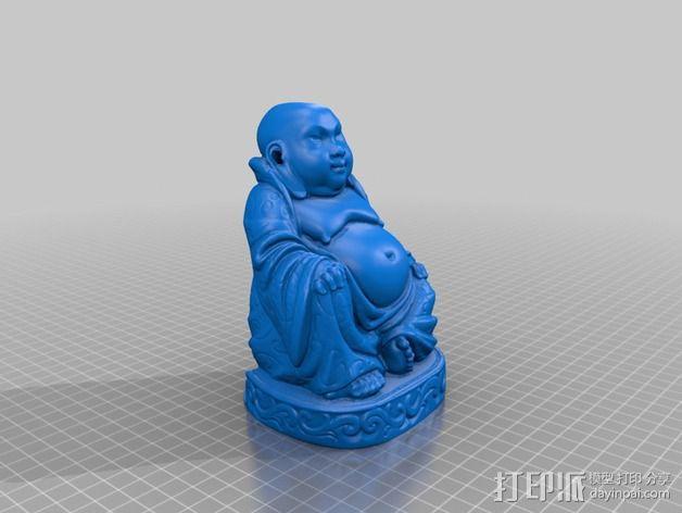 佛像模型 香炉 3D模型  图2