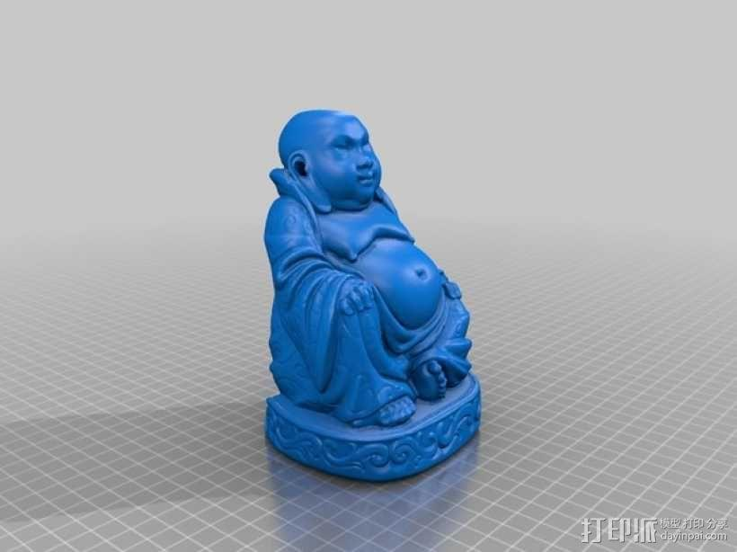 佛像模型 香炉 3D模型  图1