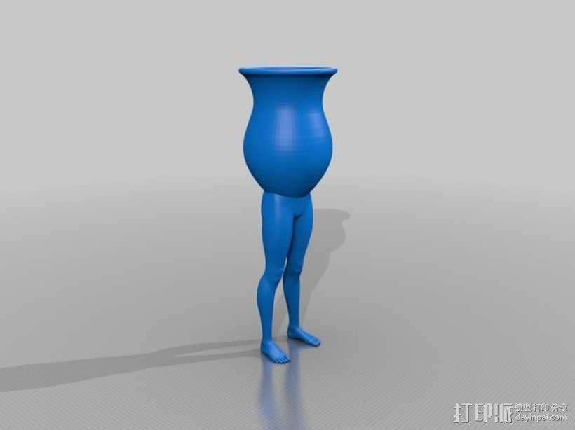 高脚杯 3D模型  图1