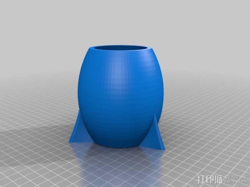 火箭 模型 3D模型  图10