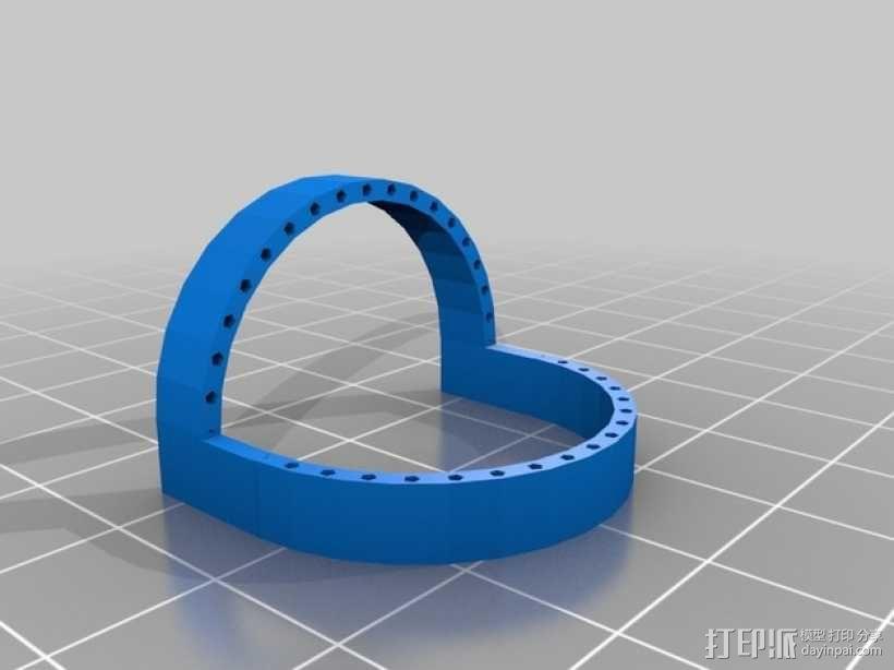 绳线艺术 3D模型  图2