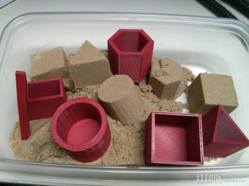 沙模 3D模型  图1