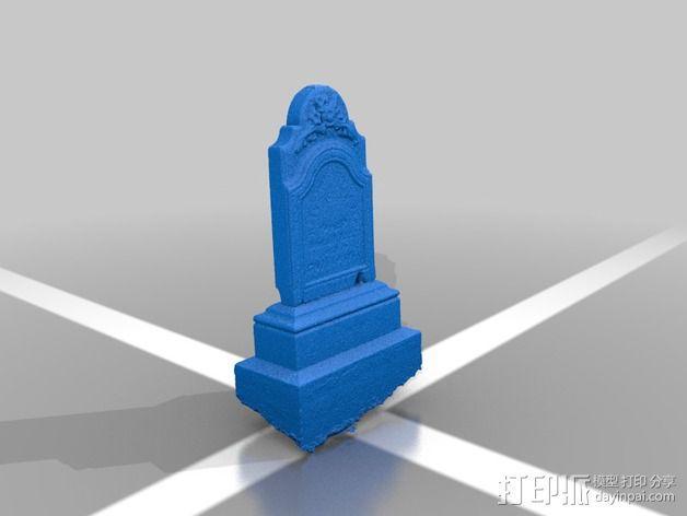纪念碑 模型 3D模型  图3