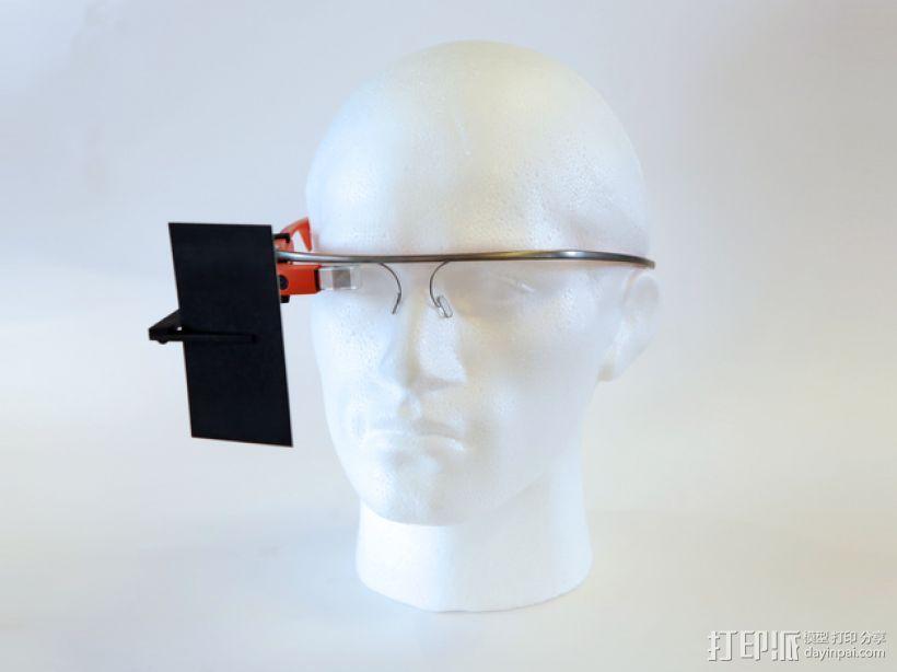 谷歌自拍眼镜 3D模型  图1