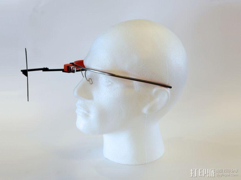 谷歌自拍眼镜 3D模型  图11