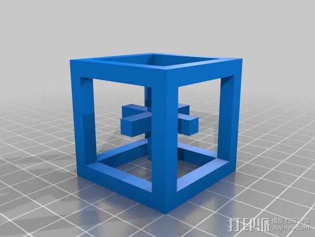 立方体结构 3D模型  图3