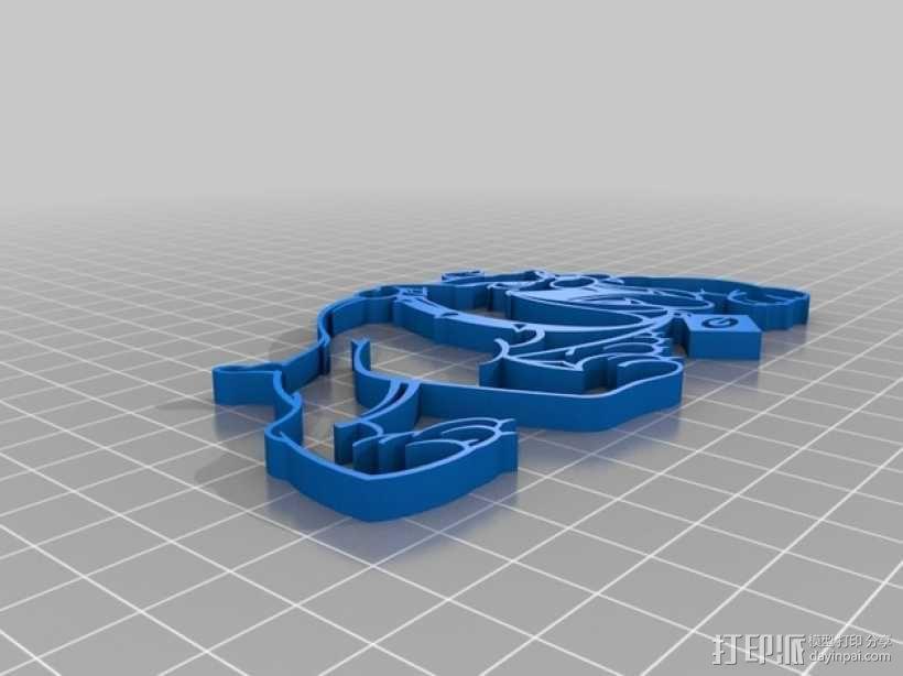 佐治亚斗牛犬 3D模型  图2