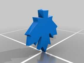 枫叶 3D模型