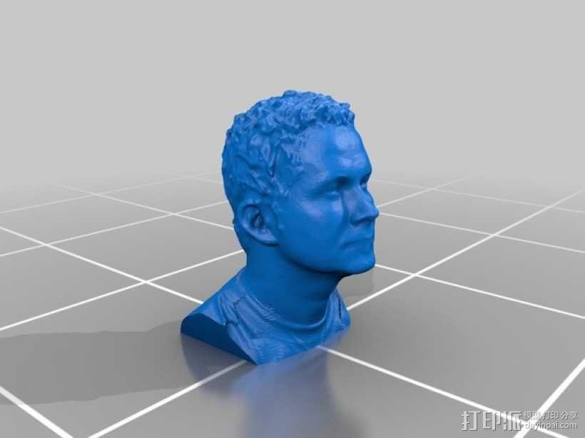 马尔切洛 雕塑模型 3D模型  图2