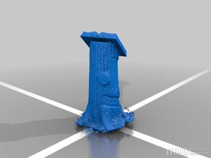Kilgore墓碑 模型 3D模型  图2