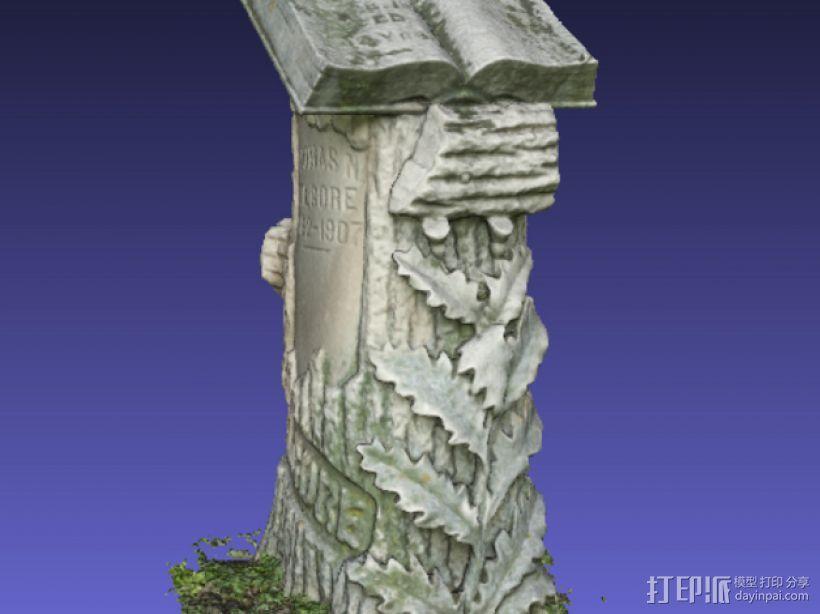 Kilgore墓碑 模型 3D模型  图5
