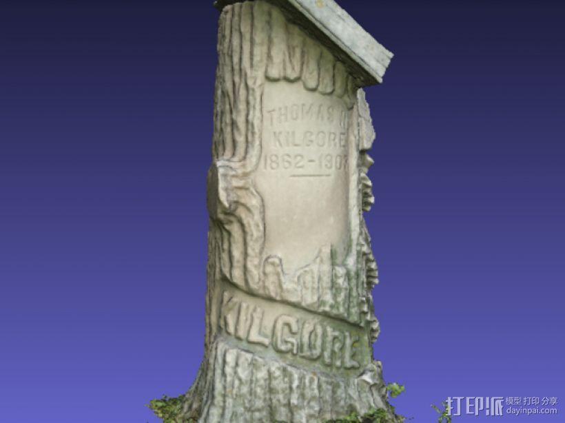 Kilgore墓碑 模型 3D模型  图4