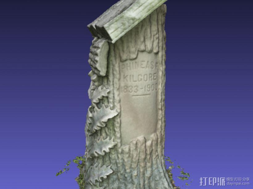 Kilgore墓碑 模型 3D模型  图7