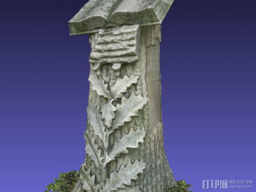 Kilgore墓碑 模型 3D模型  图6