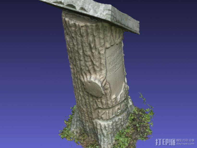 Kilgore墓碑 模型 3D模型  图9