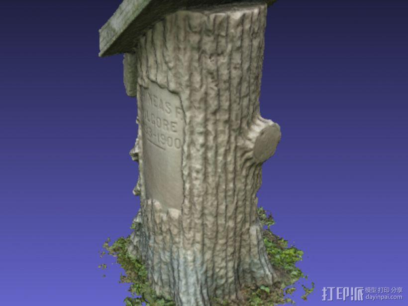Kilgore墓碑 模型 3D模型  图8