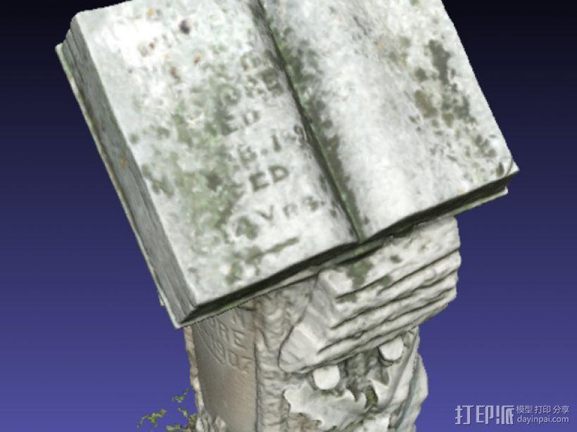 Kilgore墓碑 模型 3D模型  图10