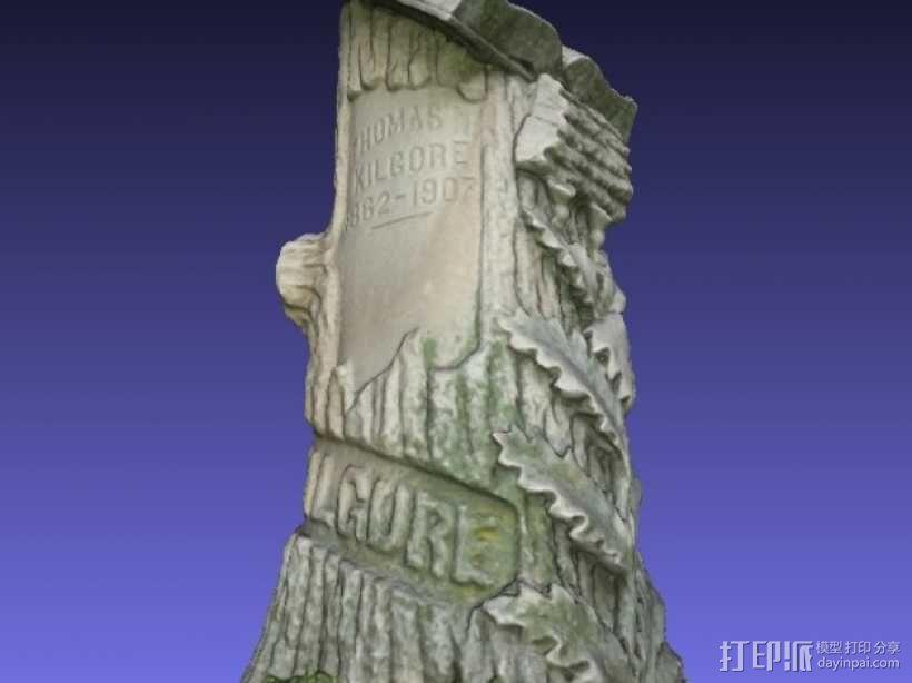 Kilgore墓碑 模型 3D模型  图11