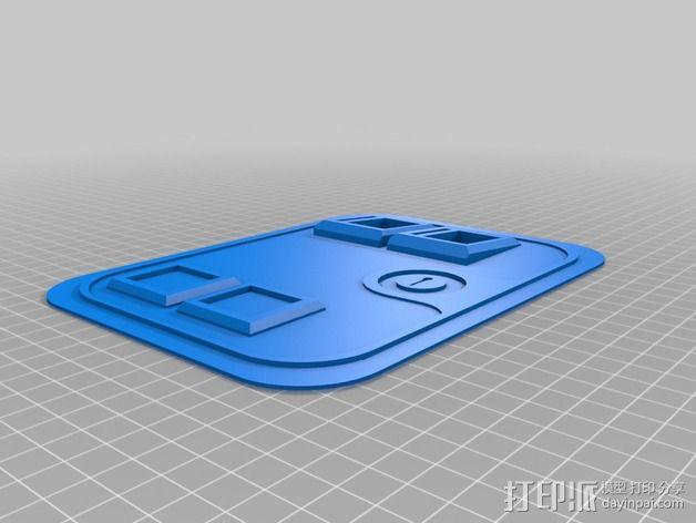 街机投币门 3D模型  图10