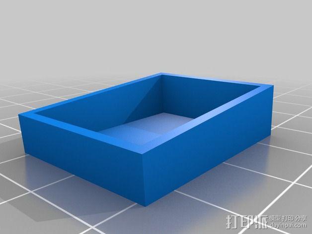 街机投币门 3D模型  图14