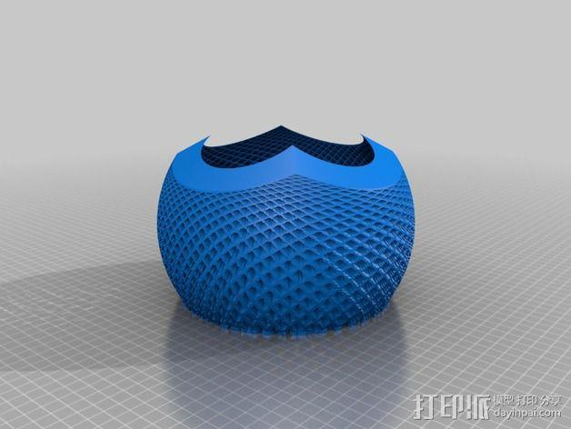 立体投影球 3D模型  图2