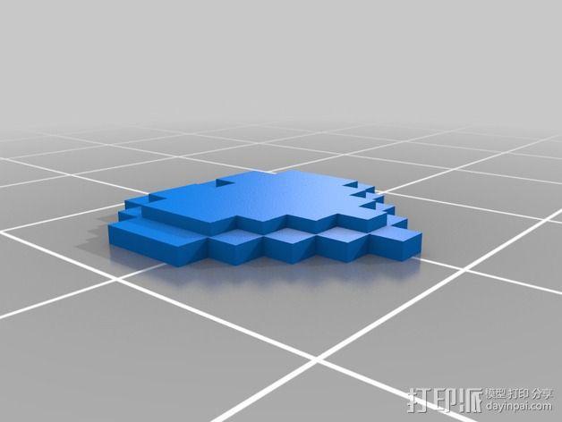 像素心 3D模型  图2