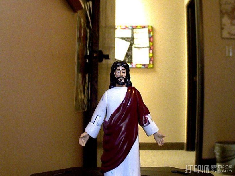 玩具人 耶稣 模型 3D模型  图1