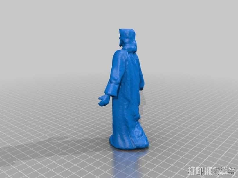 玩具人 耶稣 模型 3D模型  图2
