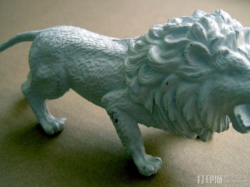 非洲狮 模型 3D模型  图1