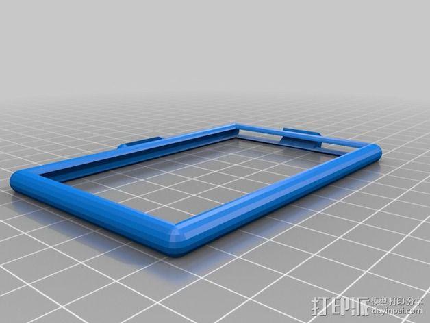 卡片框 3D模型  图1
