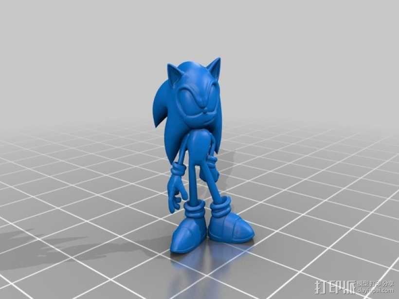 刺猬索尼克 模型 3D模型  图2
