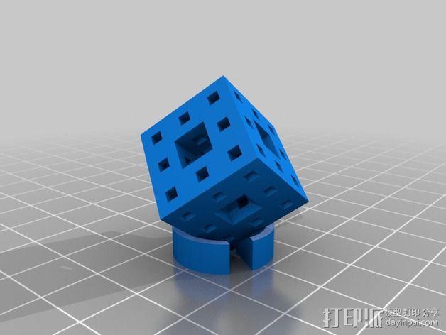 门格尔海绵 3D模型  图2