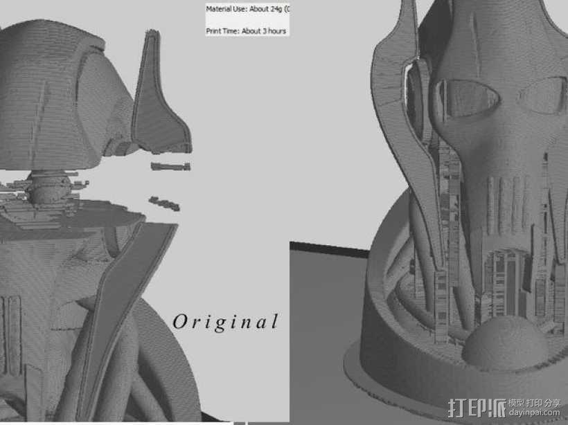 格里弗斯将军 模型 3D模型  图1