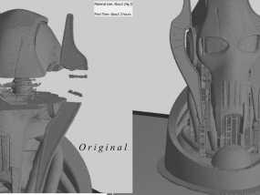 格里弗斯将军 模型 3D模型