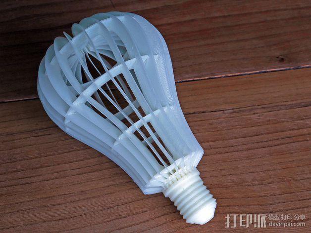 灯泡 3D模型  图3