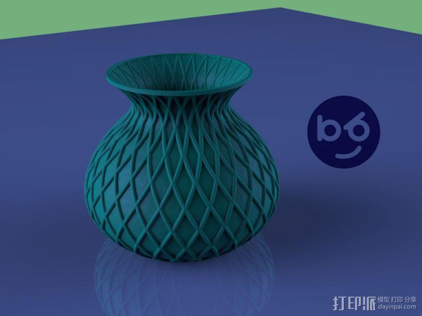 小花瓶 3D模型  图1