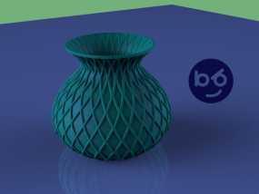小花瓶 3D模型