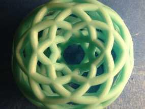 双圆环面 3D模型